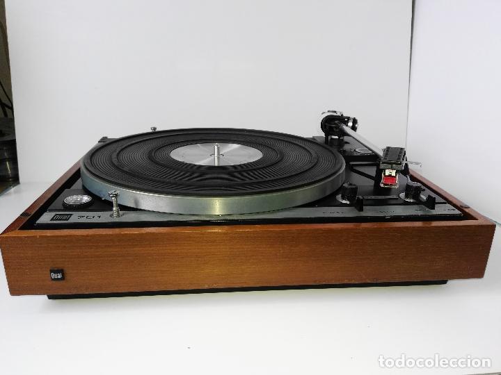 Radios antiguas: DUAL 701 (tocadiscos) Uno de los platos mas buscados y valorados (ver...) - Foto 19 - 186339326