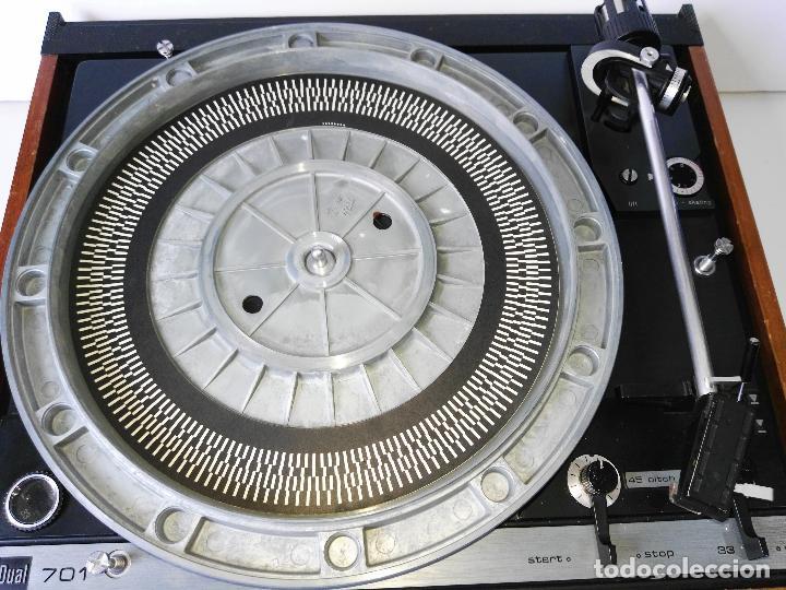 Radios antiguas: DUAL 701 (tocadiscos) Uno de los platos mas buscados y valorados (ver...) - Foto 20 - 186339326