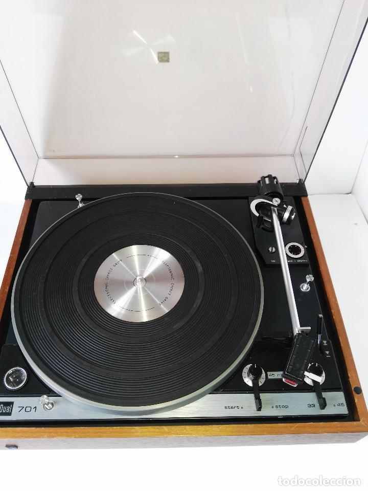 Radios antiguas: DUAL 701 (tocadiscos) Uno de los platos mas buscados y valorados (ver...) - Foto 31 - 186339326