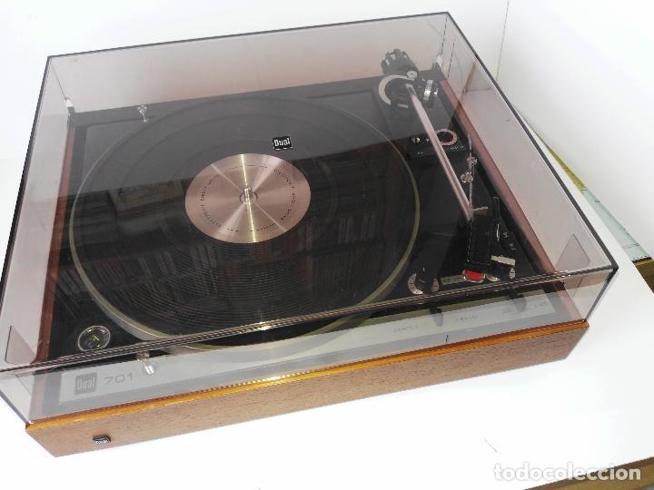 DUAL 701 (TOCADISCOS) UNO DE LOS PLATOS MAS BUSCADOS Y VALORADOS (VER...) (Radios, Gramófonos, Grabadoras y Otros - Transistores, Pick-ups y Otros)