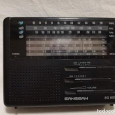 Radios antiguas: RADIO TRANSISTOR MULTIBANDA - SANGEAN SG 600L (FUNCIONANDO). Lote 187189222