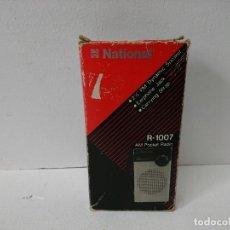 Radios antiguas: 334-RADIO TRANSISTOR NATIONAL R-1007. Lote 187224186