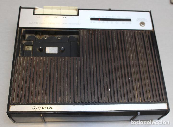 RADIOCASSETTE ORION (Radios, Gramófonos, Grabadoras y Otros - Transistores, Pick-ups y Otros)