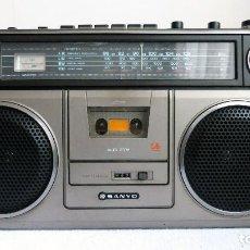 Radios antiguas: RADIOCASSETTE SANYO M9930L. Lote 187509465