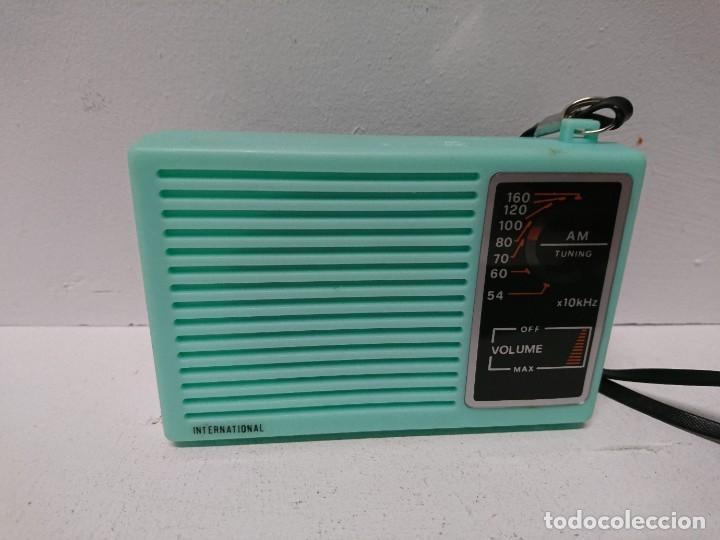 Radios antiguas: 273-Radio transistor International IC-88 - Foto 2 - 189455263