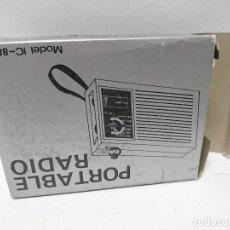 Radios antiguas: 273-RADIO TRANSISTOR INTERNATIONAL IC-88. Lote 189455263