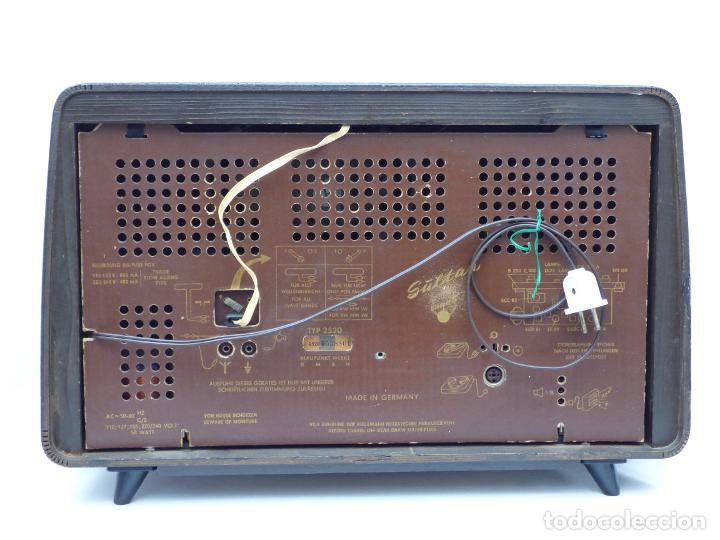 Radios antiguas: Antigua radio de válvulas, marca BLAUPUNKT, en magnifico estado, funcionando gran sonido (ver vídeo) - Foto 15 - 189989092