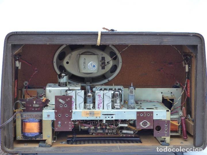 Radios antiguas: Antigua radio de válvulas, marca BLAUPUNKT, en magnifico estado, funcionando gran sonido (ver vídeo) - Foto 17 - 189989092