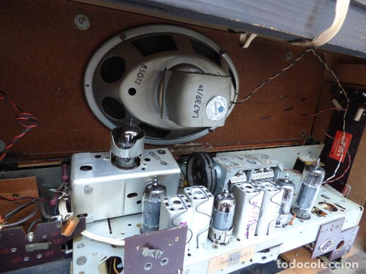 Radios antiguas: Antigua radio de válvulas, marca BLAUPUNKT, en magnifico estado, funcionando gran sonido (ver vídeo) - Foto 19 - 189989092