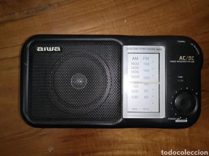 RADIO RECEIVER FR-C30 AIWA (Radios, Gramófonos, Grabadoras y Otros - Transistores, Pick-ups y Otros)