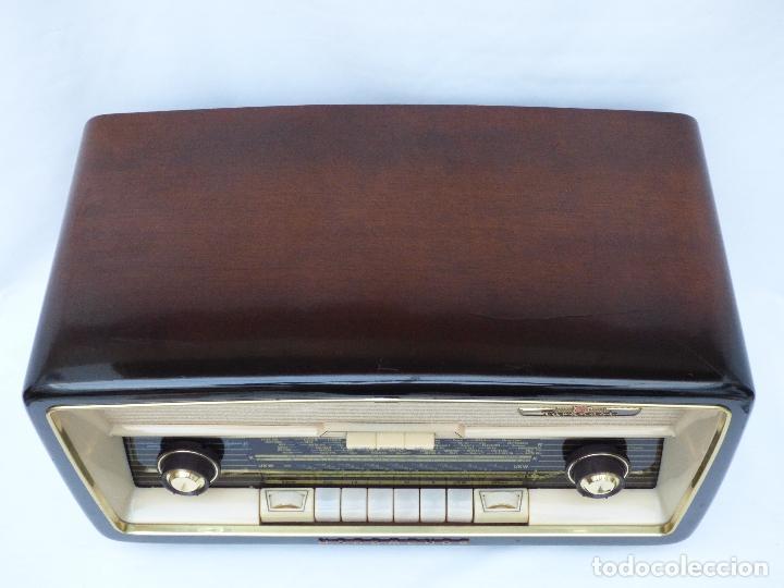 Radios antiguas: Antigua radio de válvulas marca NORDMENDE, en magnifico estado, funcionando gran sonido (ver vídeo) - Foto 7 - 190055035