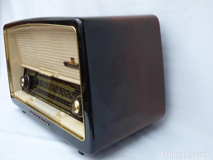 Radios antiguas: Antigua radio de válvulas marca NORDMENDE, en magnifico estado, funcionando gran sonido (ver vídeo) - Foto 9 - 190055035