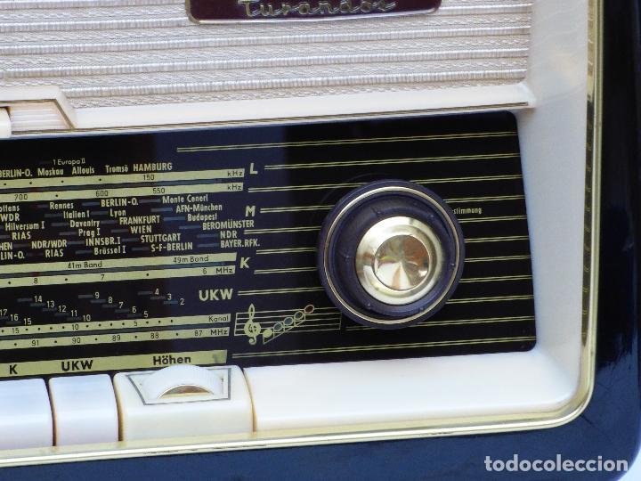 Radios antiguas: Antigua radio de válvulas marca NORDMENDE, en magnifico estado, funcionando gran sonido (ver vídeo) - Foto 14 - 190055035
