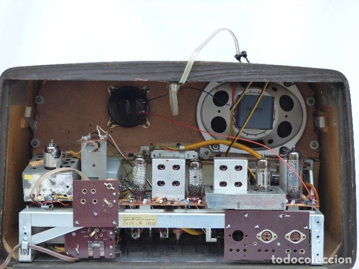 Radios antiguas: Antigua radio de válvulas marca NORDMENDE, en magnifico estado, funcionando gran sonido (ver vídeo) - Foto 16 - 190055035