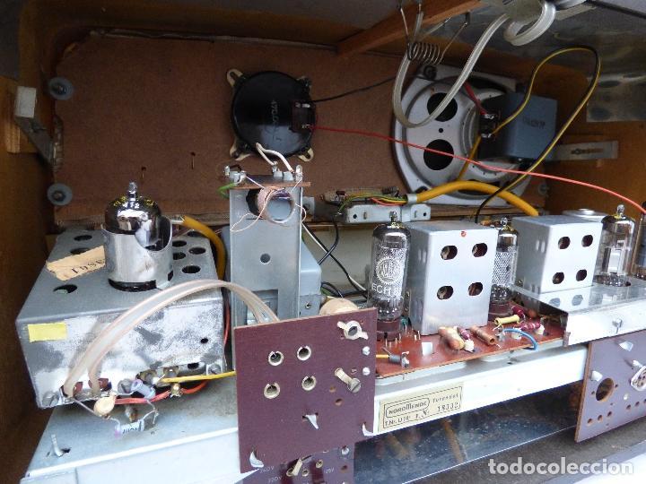 Radios antiguas: Antigua radio de válvulas marca NORDMENDE, en magnifico estado, funcionando gran sonido (ver vídeo) - Foto 18 - 190055035