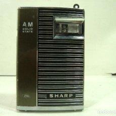 Radio antiche: RADIO SHARP SOLID STATE AM - BP-102B PORTATIL - TRANSISTOR ¡¡COLECCION¡¡ BP102B. Lote 219813060