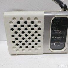 Radios antiguas: RADIO TRANSISTOR SANYO RP 1250. Lote 190293603