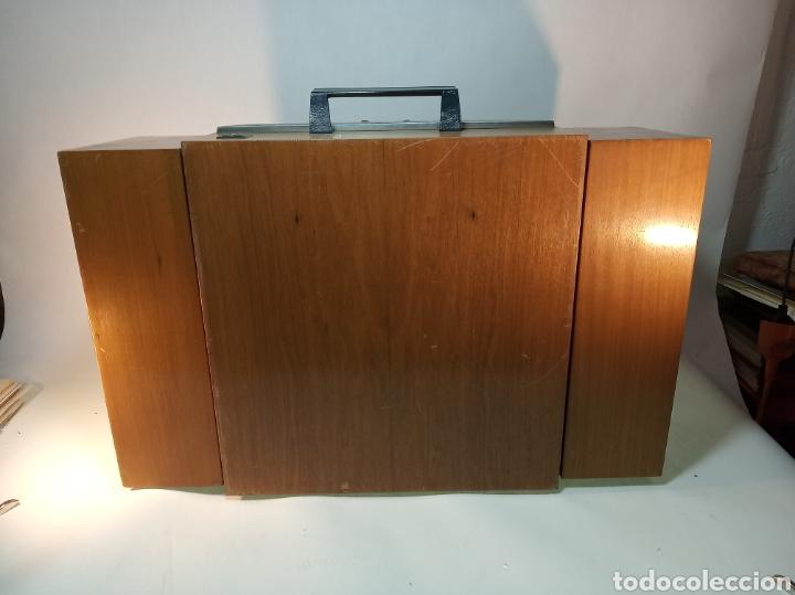 Radios antiguas: Pick-up Perpetuum-Ebner. Modelo Musical 360 stereo deluxe. 125/220. Fabricado en España. - Foto 11 - 172925885
