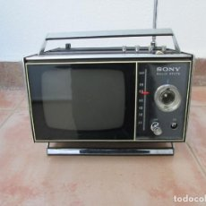 Radios antiguas: SONY TRANSISTOR TV RECEIVER MODEL TV-500UET. Lote 190375217