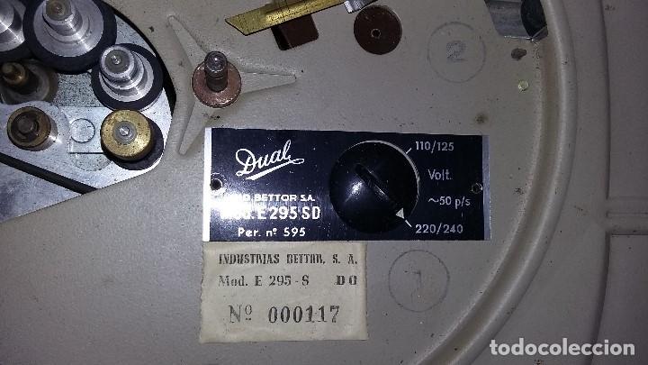 Radios antiguas: tocadiscos dual. - Foto 4 - 190454651