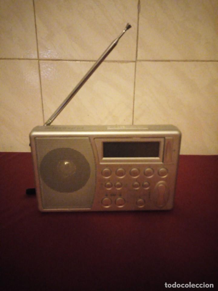 RADIO DESPERTADOR MICROSPOT MIC RA 37 WELT (Radios, Gramófonos, Grabadoras y Otros - Transistores, Pick-ups y Otros)