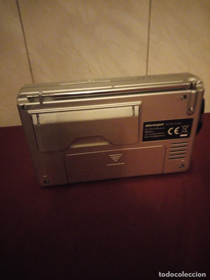 Radios antiguas: Radio despertador microspot mic ra 37 welt - Foto 4 - 190580418