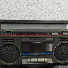 Radios antiguas: RADIO CASSETTE CORVUS. Lote 190713385