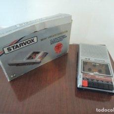 Radios antiguas: GRABADORA CASETE CON CONTADOR STARVOX - MODEL C668B - 70'S. Lote 190739081