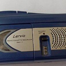 Radios antiguas: MICRO CASSETTE RECORDER LERVIA KH 411. Lote 191079138