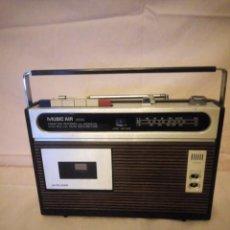 Radios antiguas: RADIO CASETTE MUSIC AIR 3000L CASSETTE RECORDER MIT MIKROFON. Lote 191123080