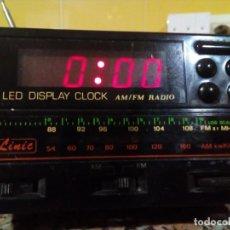 Radios antiguas: RADIO-RELOJ CON ALARMA. Lote 191302532