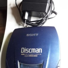 Radios antiguas: DISCMAN CD COMPACT PLAYER D-191 DIGITAL MEGA BAS. Lote 191346478