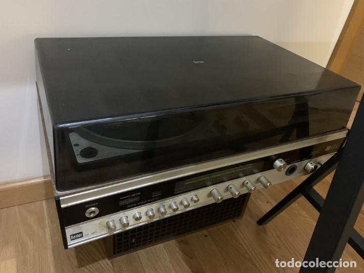 TOCADISCOS BETTOR EF-380 + ALTAVOCES (Radios, Gramófonos, Grabadoras y Otros - Transistores, Pick-ups y Otros)