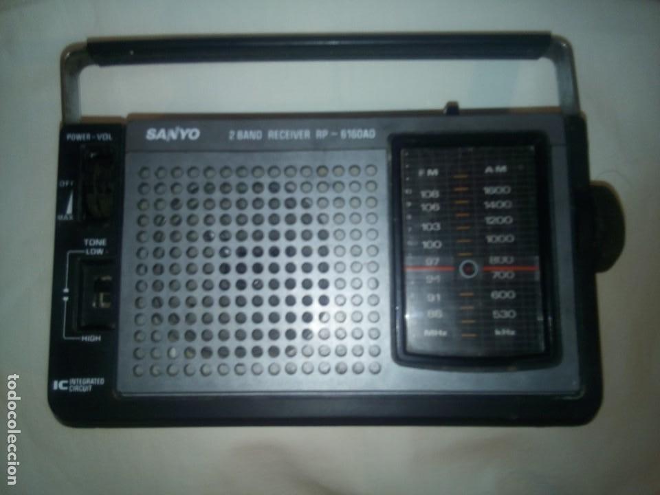 RADIO-TRANSISTOR SANYO RP-6160AD (Radios, Gramófonos, Grabadoras y Otros - Transistores, Pick-ups y Otros)