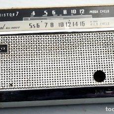 Radios antiguas: CARCASA DE ANTIGUA RADIO SANYO. TRANSISTOR 7. Lote 191384715