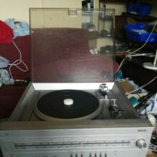Radios antiguas: EQUIPO MÚSICA COMPACTO TOCADISCOS, RADIO ,CASETTE. Lote 191679465