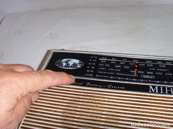 Radios antiguas: RADIO MULTIBANDAS MIRO - Foto 3 - 191740472