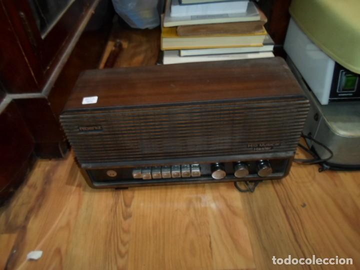 Radios antiguas: Radio Albeniz Hilo Musical Hasler altura 19 cms. 37,5 X 13 cm. ancho - Enciende - Foto 2 - 191823650