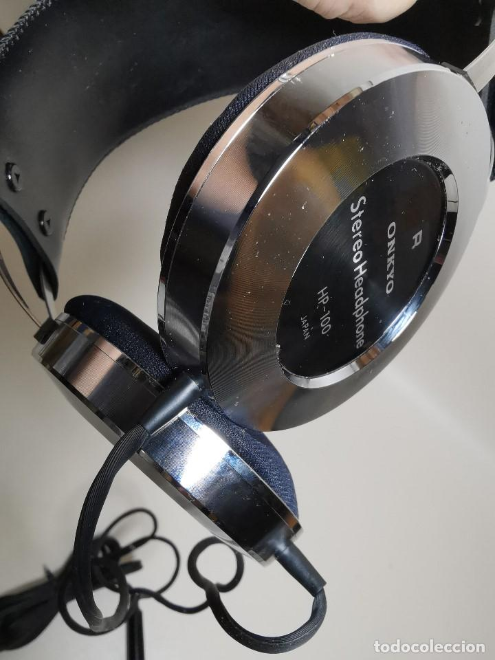 Radios antiguas: HEADPHONES AURICULARES ONKYO HP-100 -OSAKA JAPAN 1977 - Foto 39 - 191995051