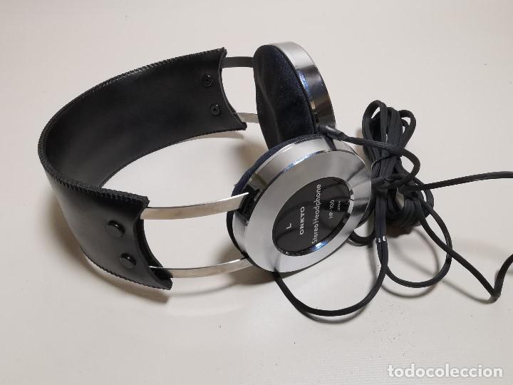 Radios antiguas: HEADPHONES AURICULARES ONKYO HP-100 -OSAKA JAPAN 1977 - Foto 42 - 191995051