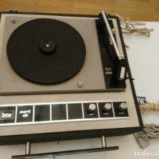 Radios antiguas: TOCADISCOS PORTATIL BETTOR MARK 40, DUAL 410. FUNCIONANDO. Lote 192104526