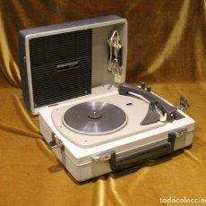 Radios antiguas: ANTIGUO TOCADISCOS,PICK UP,PHILIPS LAVIS,MODELO EXPORT.. Lote 192119551