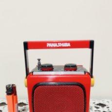 Radios antiguas: RADIO PANASHIBA CTC FX 100, FUNCIONANDO, VER VÍDEO.. Lote 192147586