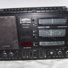 Radios antiguas: RADIO MULTIBANDAS GRUNDIG SATELLIT 3400 . Lote 192506726