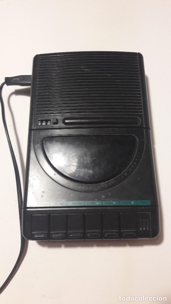 MAGNETOFONO GRABADOR-REPRODUCTOR DE CASSETTE PHILIPS - AÑOS 60-70 (Radios, Gramófonos, Grabadoras y Otros - Transistores, Pick-ups y Otros)
