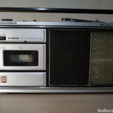 Radios antiguas: RADIOCASSETTE GRUNDIG C 4500 AUTOMATIC - AÑOS 70. Lote 192817871
