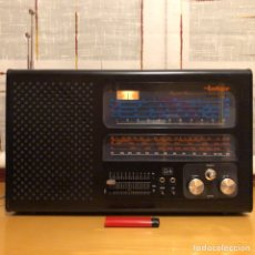 Radios antiguas: RADIO MULTIBANDA INTER EUROMODUL 134 , MODELO Y COLOR ESCASO. FUNCIONANDO, VER VÍDEOS.. Lote 192914423