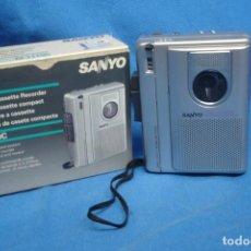 Radios antiguas: GRABADORA SANYO-M-1110C - ACTIVACIÓN DEL SISTEMA POR VOZ. Lote 193232226