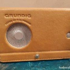 Radios antiguas: GRUNDIG YB-P 2000 DISEÑO POR F.A. PORSCHE AM/FM DESPERTADOR RADIO DE ONDA CORTA. Lote 193636368