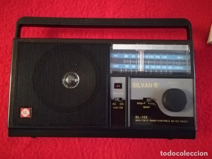 RADIO SILVANO SL-102 AM/FM (Radios, Gramófonos, Grabadoras y Otros - Transistores, Pick-ups y Otros)